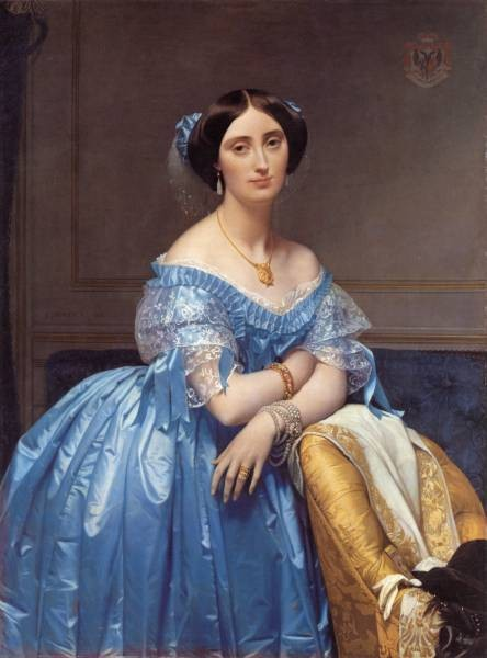 Ingres Princess Albert de Broglie